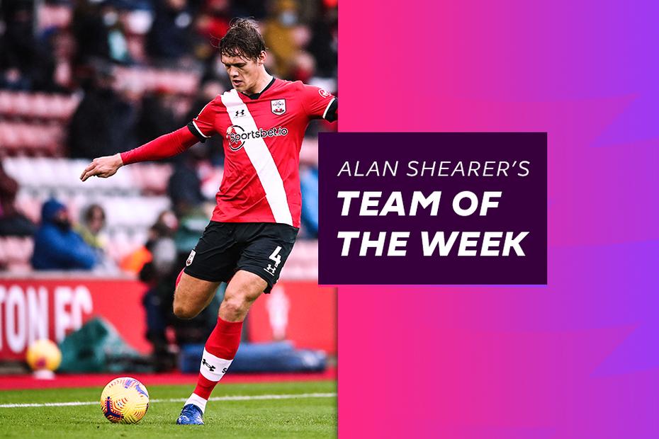 Jannik Vestergaard, Shearer's Team of the Week