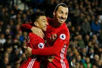 Flashback: Zlatan double sees off West Brom