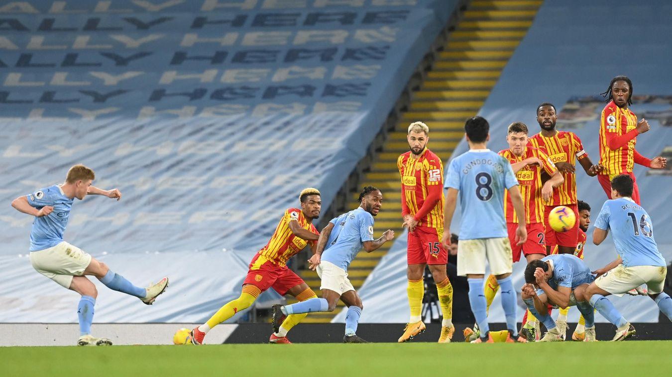 Manchester City 1-1 West Bromwich Albion