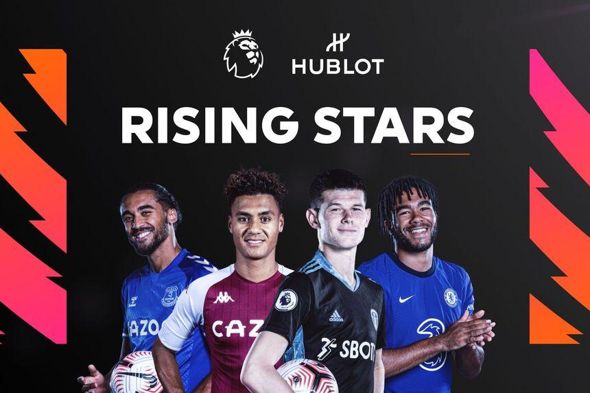 Hublot Young Player of the Year Rising Stars - Calvert-Lewin, Watkins, Meslier, James