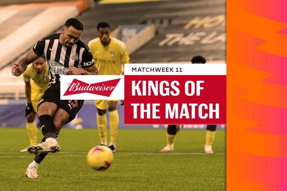 Budweiser Kings of the Match: Matchweek 14