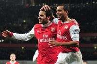 Flashback: Fabregas and Walcott see off Chelsea