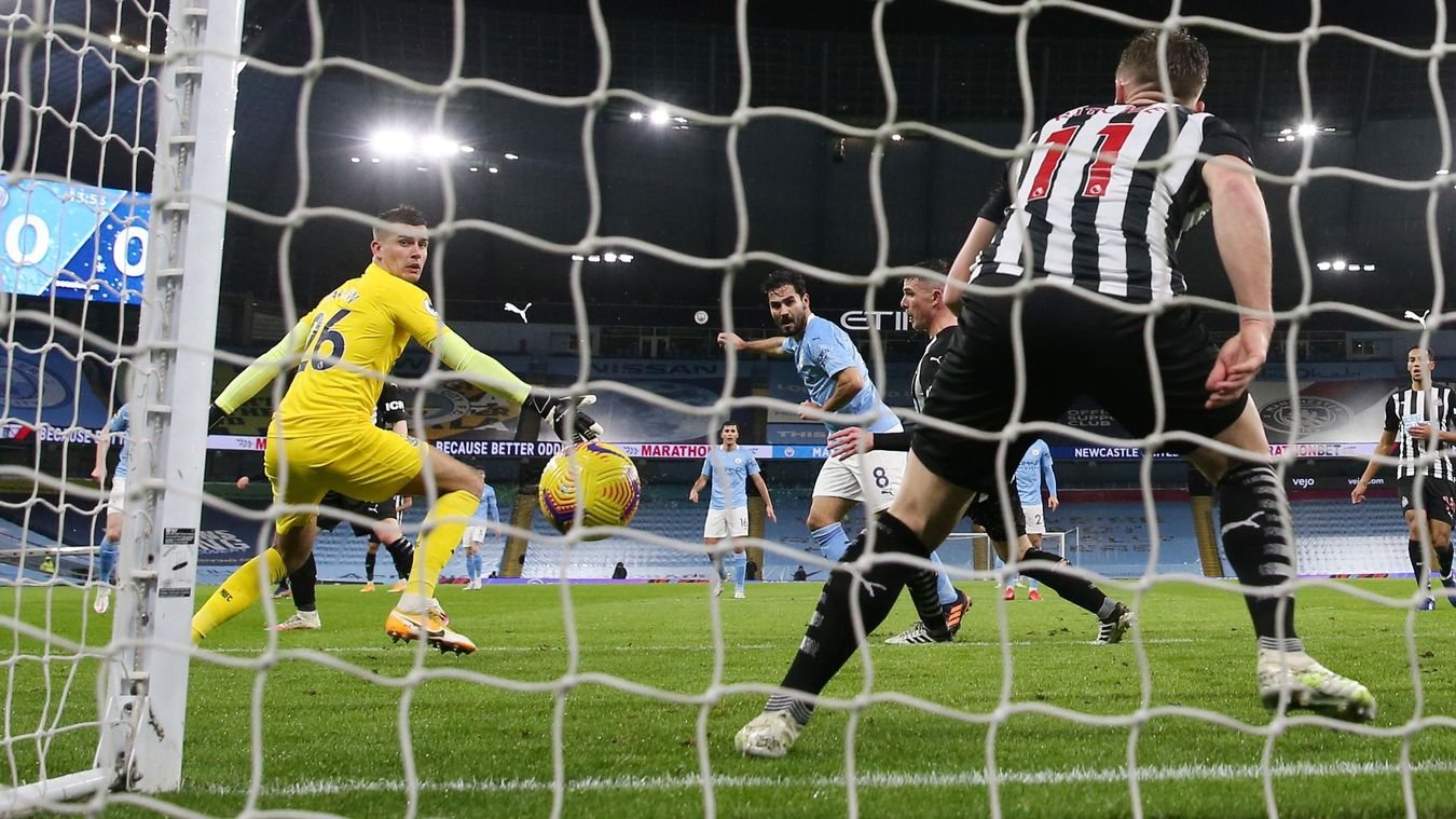 Manchester City 2-0 Newcastle United