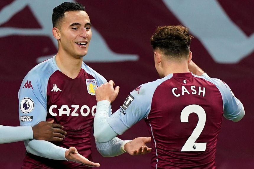 Anwar El Ghazi, Matty Cash, Aston Villa