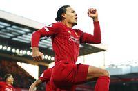 Enjoy Van Dijk's best Liverpool moments