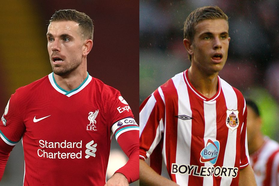 Jordan Henderson in action for Liverpool and Sunderland