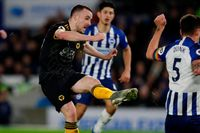 Classic match: Jota double gives Wolves draw at Brighton