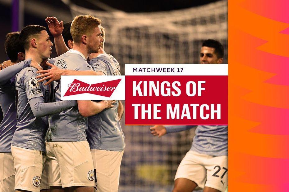 Budweiser Kings of the Match, Matchweek 17