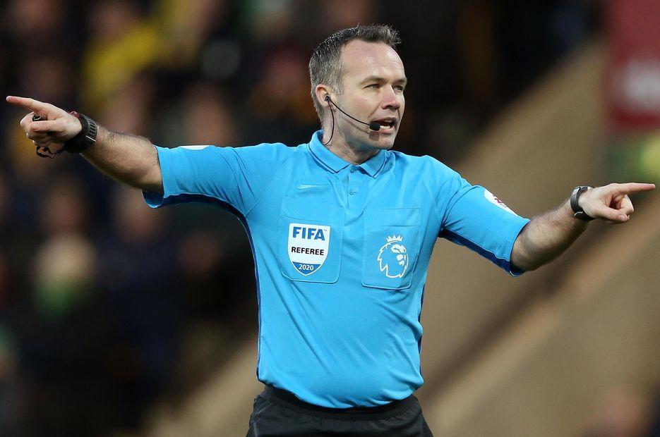 Paul Tierney, referee