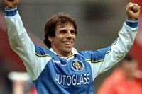 Goal of the day: Zola's curling free-kick