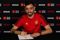 On this day - 30 Jan 2020: Man Utd confirm Fernandes signing