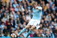 Flashback: A rocket by De Bruyne