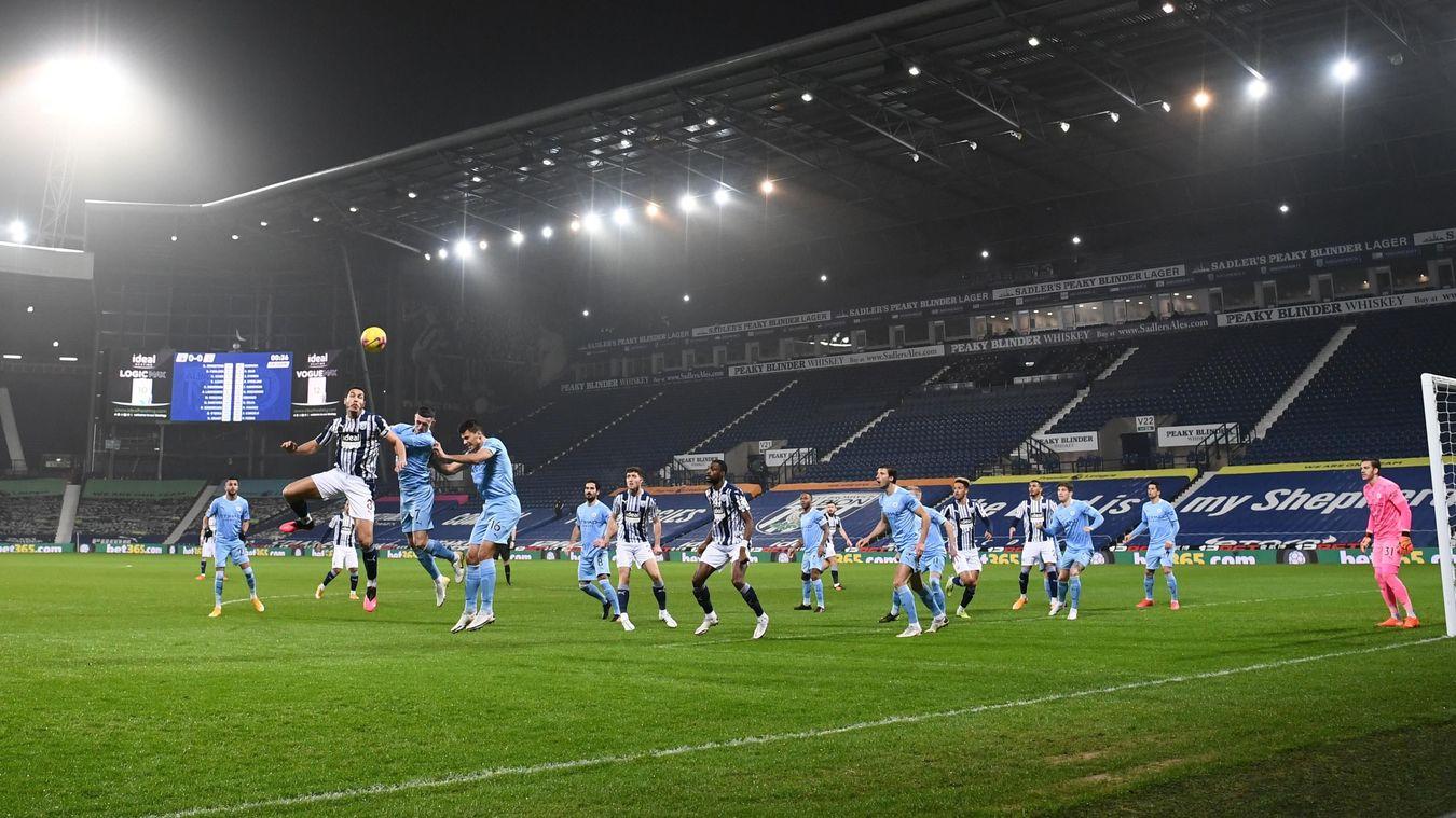 West Bromwich Albion 0-5 Manchester City