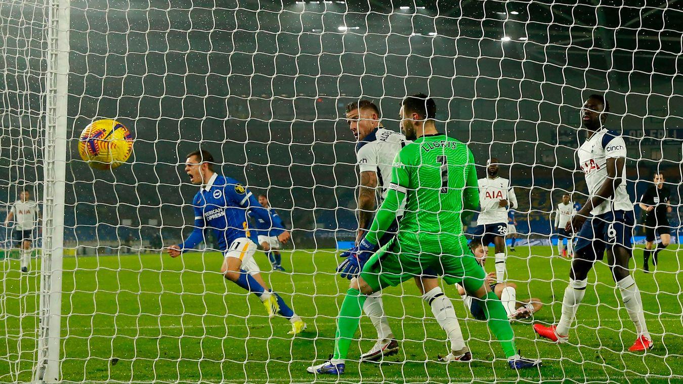 Brighton & Hove Albion 1-0 Tottenham Hotspur