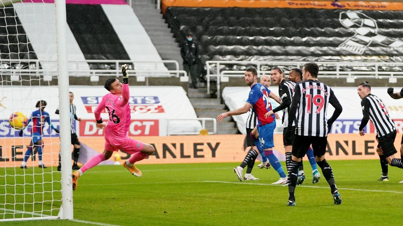 Newcastle United 1-2 Crystal Palace
