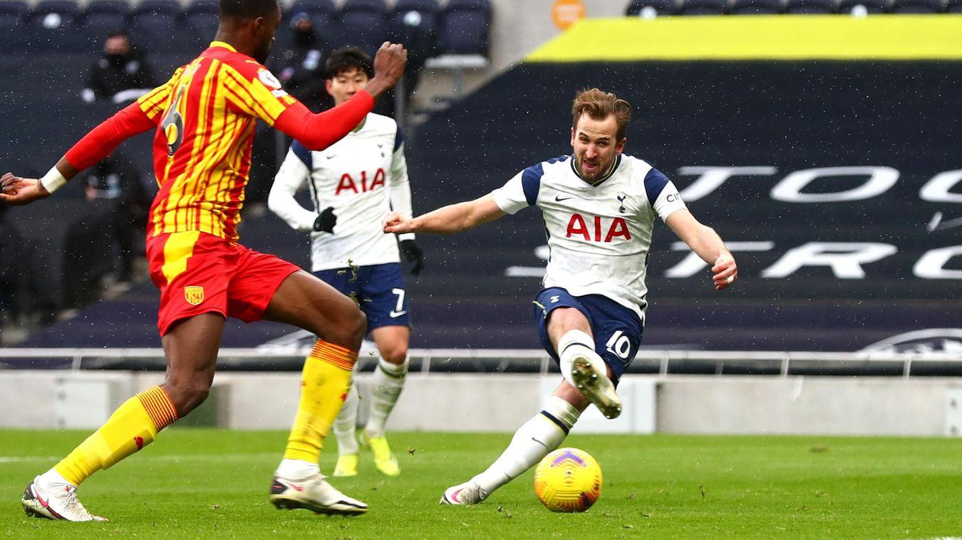 Tottenham Hotspur 2-0 West Bromwich Albion