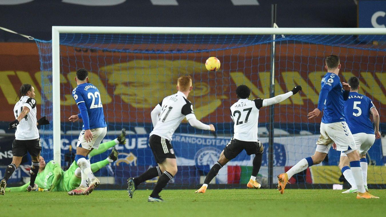 Everton 0-2 Fulham