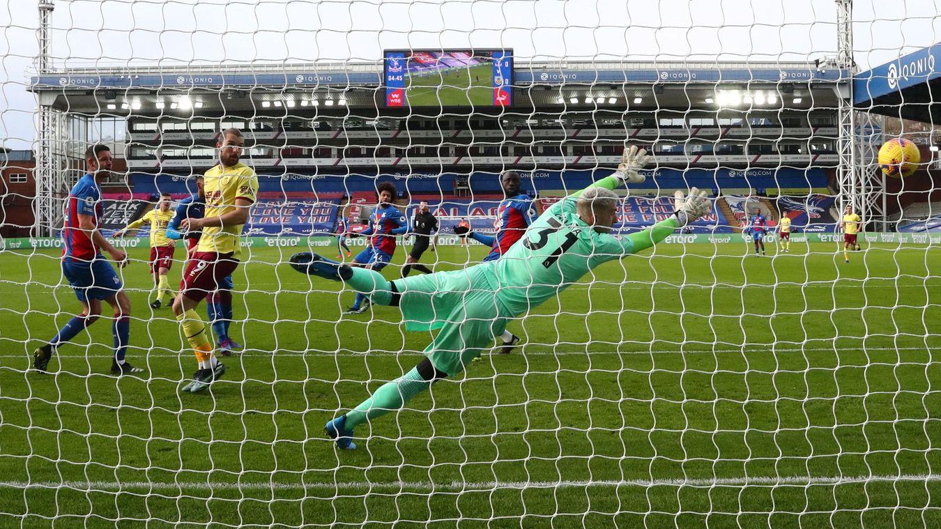 Crystal Palace 0-3 Burnley