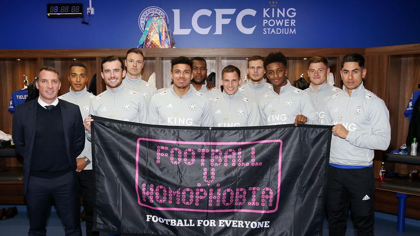 Leicester City Football v Homophobia