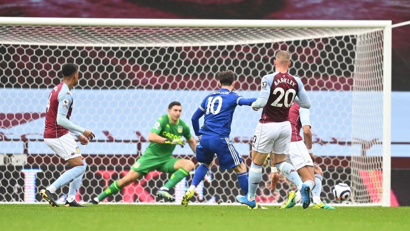 Aston Villa 1-2 Leicester City