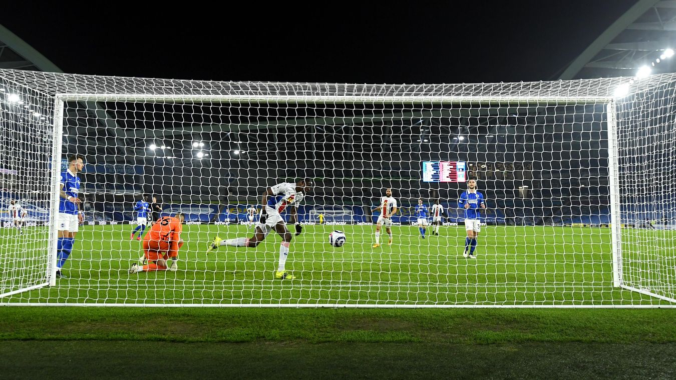 Brighton & Hove Albion 1-2 Crystal Palace