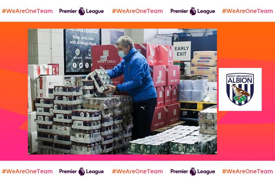 WAOT West Brom food parcels