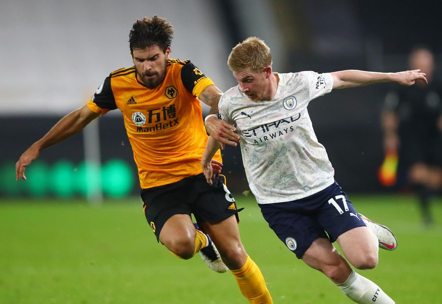 Ruben Neves and Kevin De Bruyne
