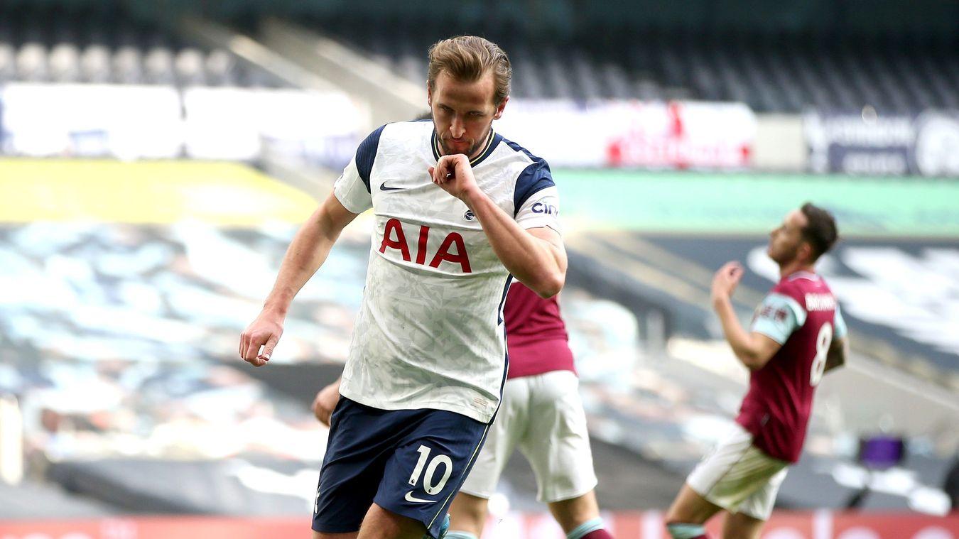 Harry Kane v Burnley