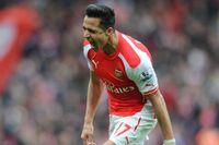 Flashback: Sanchez fires in against Liverpool