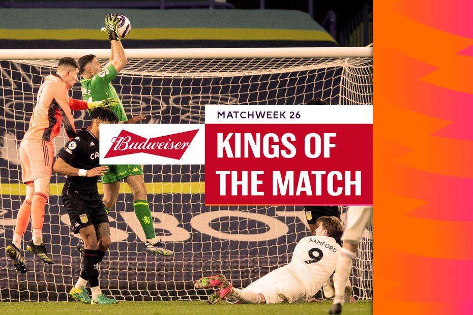 Emiliano Martinez, Budweiser King of the Match
