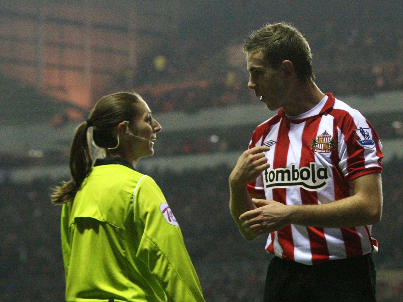 Sian Massey Sunderland v Blackpool