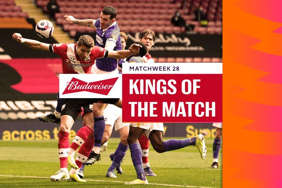 Lewis Dunk, Matchweek 28 King of the Match