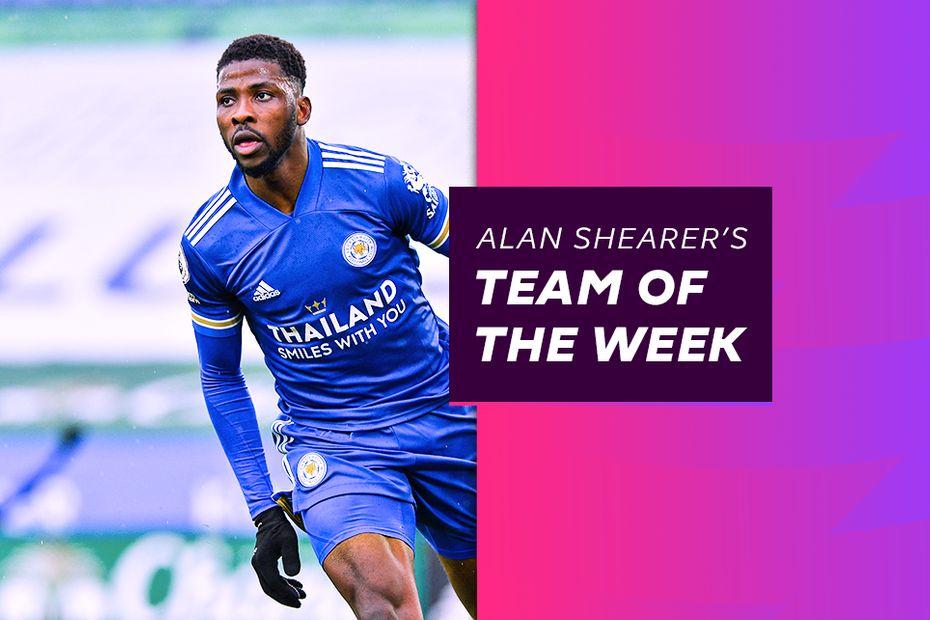 Alan Shearer's Team of the Week, featuring Kelechi Iheanacho