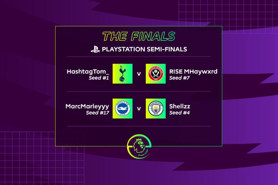 ePremier League - PlayStation 4 semi-finalists