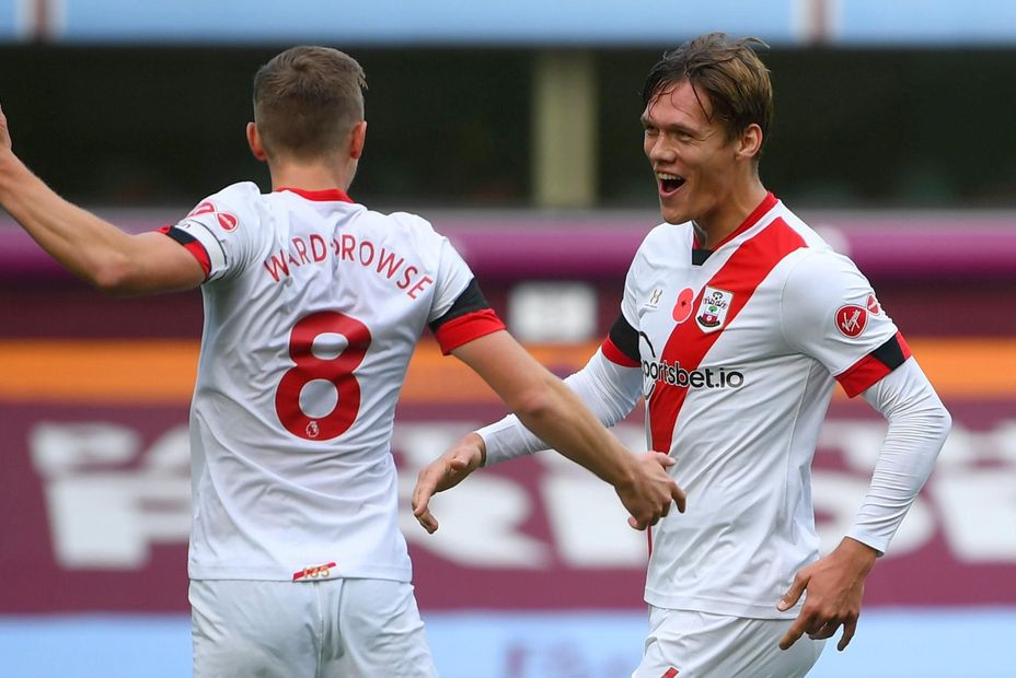 Ward-Prowse and Vestergaard