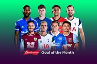 Watch March 2021's Budweiser Goal of the Month contenders