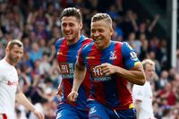 Goal of the day: Gayle bends in free-kick for Palace
