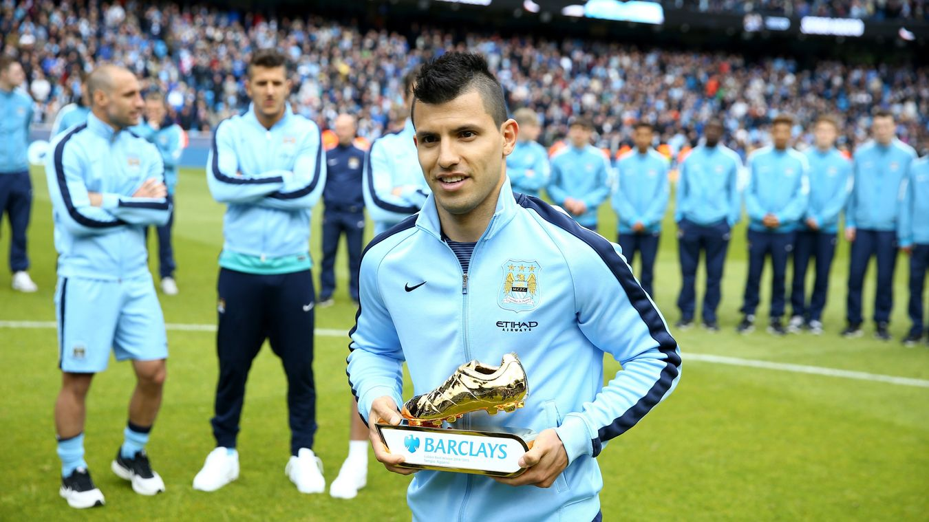 Sergio Aguero Golden Boot