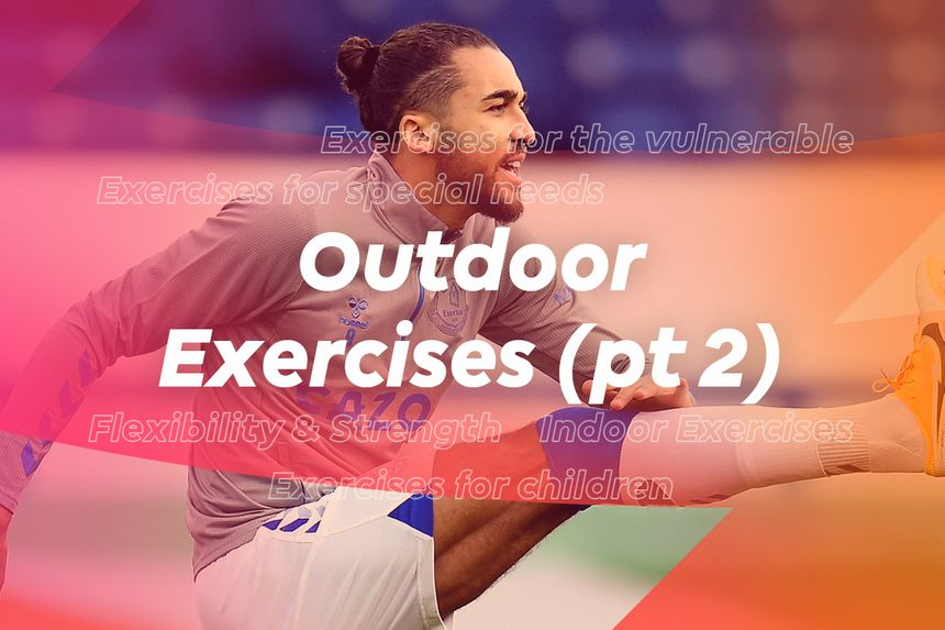 More outdoor exercises