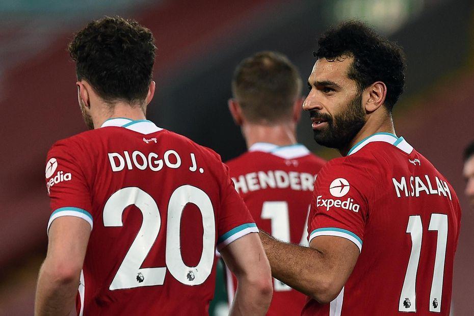 Jota and Salah, Liverpool