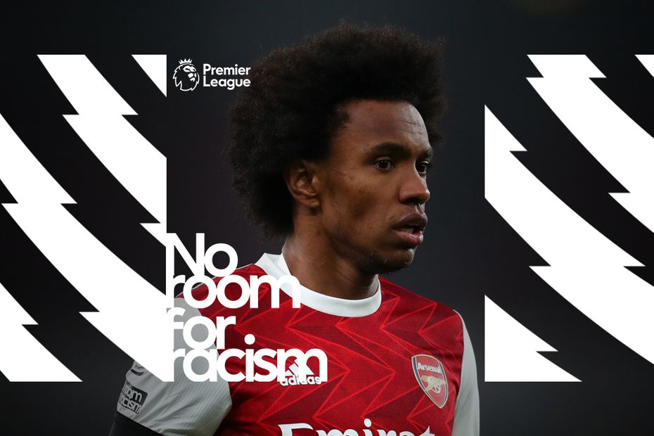 No Room For Racism, Arsenal, Willian v2