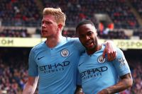 Flashback: De Bruyne and Sterling star at Crystal Palace