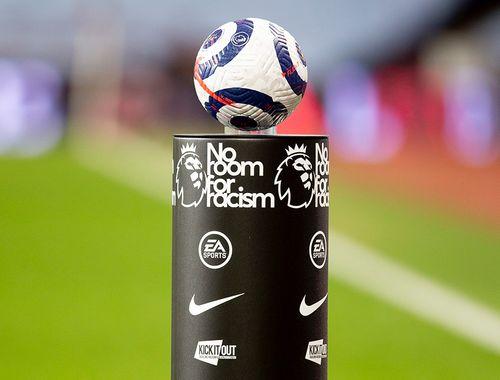 No Room For Racism ball plinth