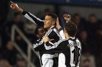 Goal of the day: Jenas opens account with stunning volley