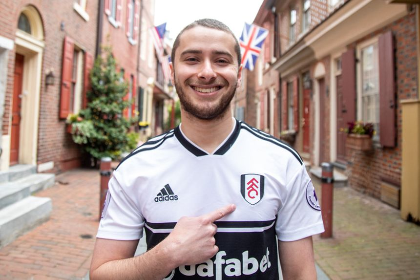Max, an American Fulham fan