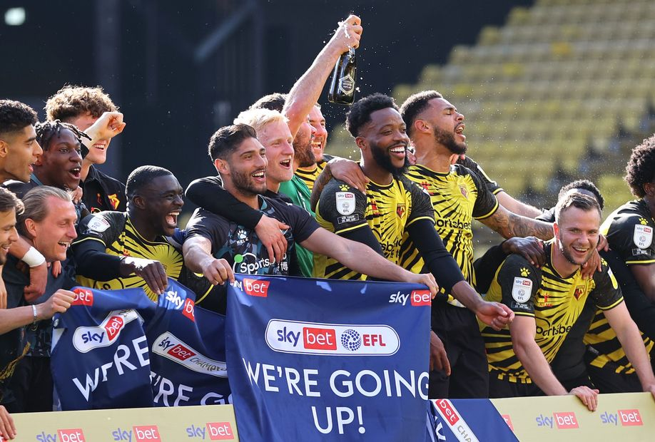 Watford promotion cele