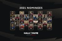 Nominees to join Hall of Fame in 2021