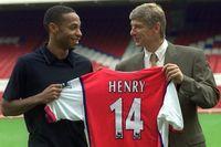 Henry: Arsene Wenger triggered my brain