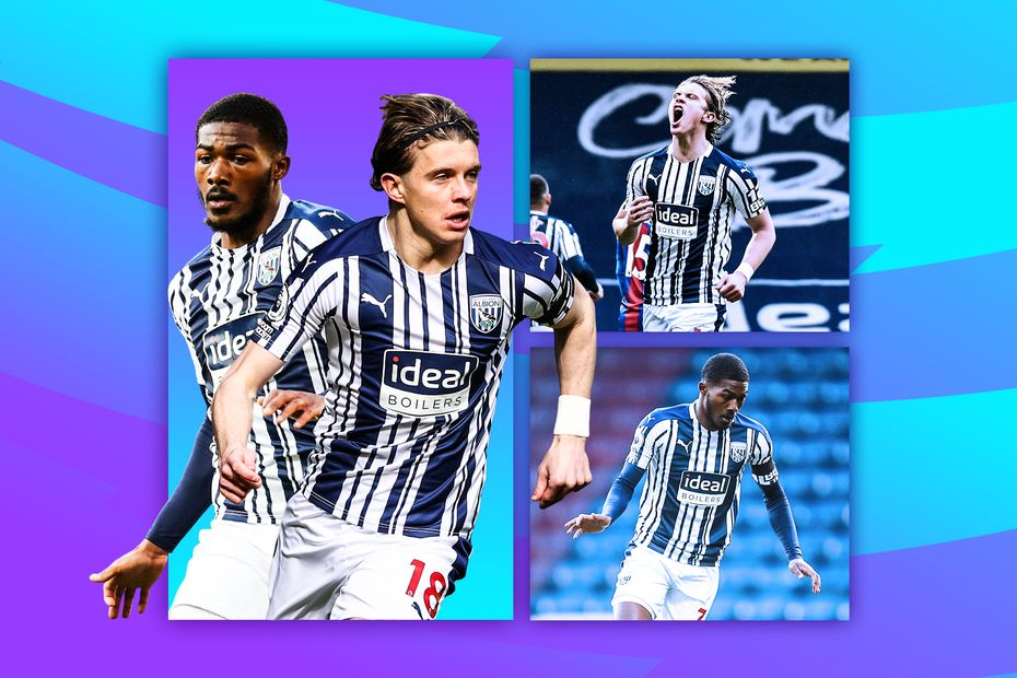 Gallagher and Maitland-Niles, West Brom