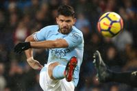 Goal of the day: Aguero slams in off the crossbar